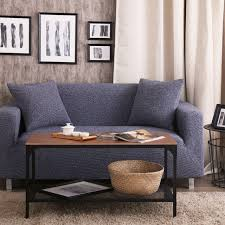couleur canapé bleu housses canapé élastique housse de canapé pas cher tissu