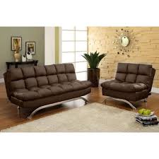 futon living room set for leather sofa metal legs above
