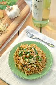 light olive oil pasta sauce quick roasted garlic pasta with olive oil and parmesan 4