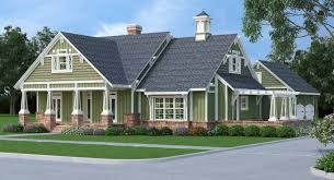 craftsman home plan craftsman house plan with 3 bedrooms and 2 5 baths plan 9358