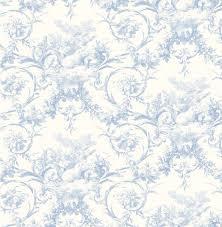 kennedy blue modern toile wallpaper wallpaper traditional