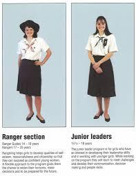 thanksgiving day 1992 members uniform chart u2013 uniform booklet 1992 guiding stories