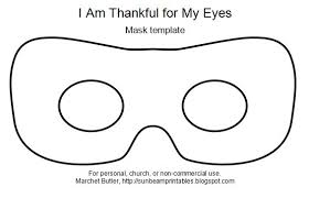 eye mask template printable eye mask images search