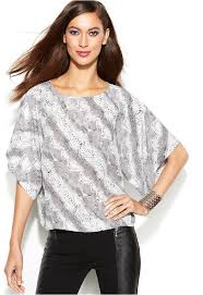 snake print blouse inc international concepts dolman sleeve snakeskin print blouse