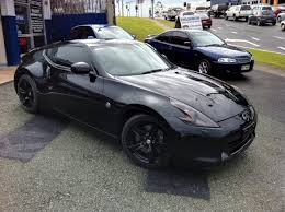 black nissan ultratint photoblog nissan 370z goes black on black on black
