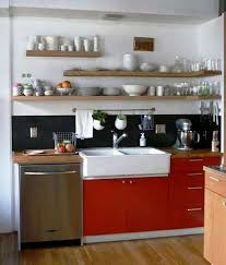 Small Kitchen Shelves - free home decorating ideas interior design tips for every room