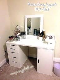 vanity desk with mirror ikea ikea makeup table makeup drawer table with drawers vanity desk set