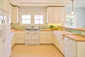 kitchen cozy glass tile backsplash with green ceramics design and