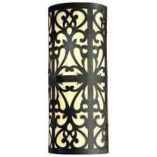 Fluorescent Wall Sconce Minka Wall Sconces Iron Fluorescent Outdoor Wall Sconce Wall