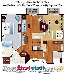 disney world floor plans disney world floor plans fresh review disney s beach club villas