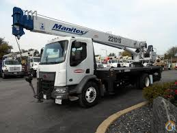 manitex 22101s on peterbilt 220 cab over crane for in lyons