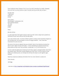 nursing resignation letter 11 notice of resignation letter