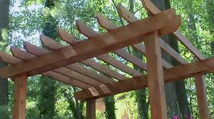 How To Build A Detached Patio Cover by How To Build A Pergola Diy