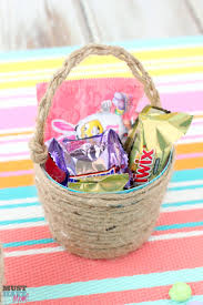 eater baskets easter m m s cookie bars recipe diy mini easter basket idea
