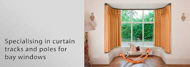 Bay Window Pole Suitable For Eyelet Curtains Curtain Tracks Bay Windows Memsaheb Net