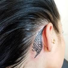 tattoo neck behind ear behind the ear tattoo 55 different suggestions