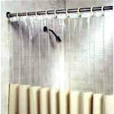 Extra Long Clear Shower Curtain Clear Shower Curtains U2013 Teawing Co
