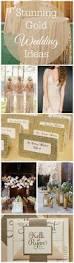 15 stunning gold wedding ideas rustic wedding chic