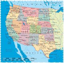 map of usa west coast map usa west major tourist attractions maps