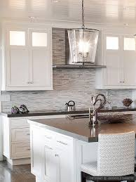 kitchen marble backsplash modern white gray subway marble backsplash tile gray backsplash in
