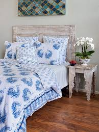 blue and white bedding and linen peacock bedding and linen