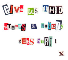 letter writers alliance the case of the cut paper ransom note