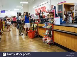 west palm beach florida tj maxx discount store shopping inside
