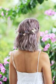 how to do the country chic hairstyle from covet fashion ehow lavender lavender hair purple gray and lavender