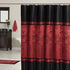 Red And Black Bathroom Decorating Ideas Homey Design Red And Black Bathroom Decor Red Bathroom Decor