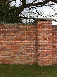brick garden walls the gardens