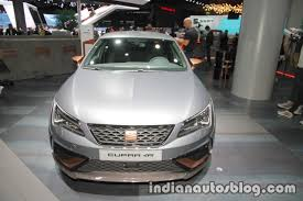 seat leon cupra r front at iaa 2017 indian autos blog