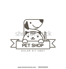 vector outline illustration cute muzzle cat stock vector 369595829