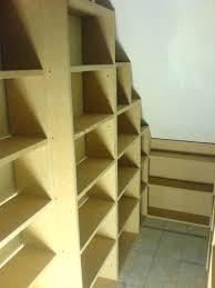 bookcase under stair shelves ikea under stair bookcase plans