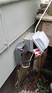outdoor electrical box for light updating an antique outdoor light with a motion sensor