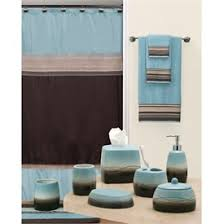 entranching brown and blue bathroom ideas color scheme modern of