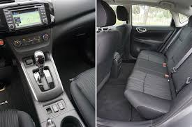 Nissan Sentra Interior 2016 Nissan Sentra U2014 Easy On The Wallet But Not On The Eyes