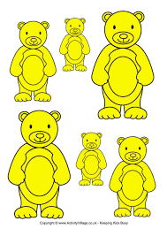 teddy bear sorting yellow