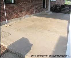 Outdoor Concrete Patio Staining Concrete Floors Concrete Stain Sealer Etching Concrete