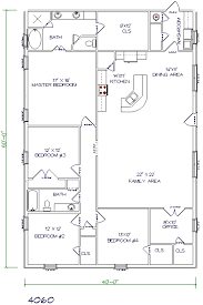 Plans For A 25 By 25 Foot Two Story Garage 30 Barndominium Floor Plans For Different Purpose Barndominium
