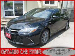 toyota camry hybrid for sale by owner 2015 toyota camry hybrid se 1 owner no accidents toronto