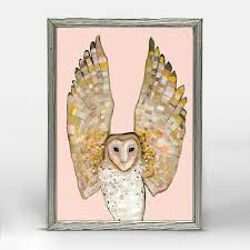Barn Owl Holidays Owl Print U2013 Oil Paintings By Eli Halpin