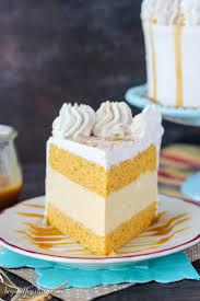 pumpkin ice cream cake beyond frosting