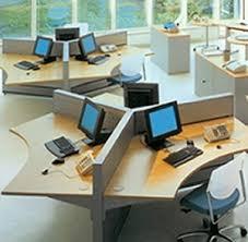 Open Plan Office Open Plan Open Floor And Office Designs - Open office furniture