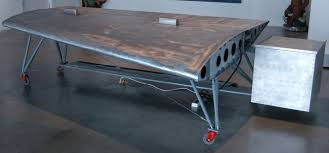 Airplane Wing Coffee Table by Omar Ali Airplane Wing Desk 2009 Available For Sale Artsy