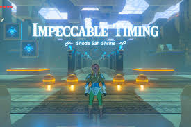 zelda breath of the wild guide shoda sah shrine walkthrough and