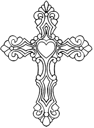 projects ideas cross coloring pages printable page picture