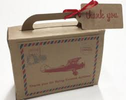 Suitcase Favors by Precious Cargo Suitcase Favor Box Baby Shower Favors Suitcase