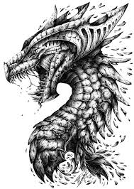 3d dragon tatoo artstation chinese dragon jason liu dragon art pinterest