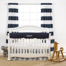 Navy Crib Bedding Navy Monogram Basics Crib Bedding Set Includes Monogram Liz