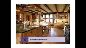 large country kitchens designs collections youtube